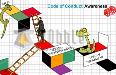Code of conduct : Explain in the way they will understand
