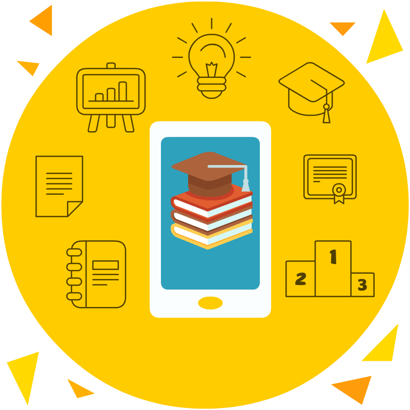 mobile&books-learning